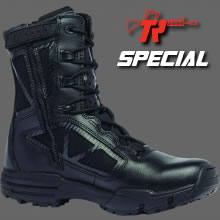 TR CHROME | TR918Z<br /> 8″ Hot Weather Side Zip Boot